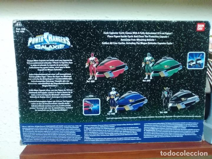 Figuras y Muñecos Power Rangers: POWER RANGERS - LOST GALAXY - CAPSULAR CYCLE - BANDAI REF. 4396 ¡NUEVO A ESTRENAR! - Foto 4 - 26501948