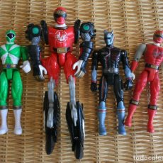 Figuras y Muñecos Power Rangers: MIGHTY MORPHING POWER RANGERS BANDAI 4 FIGURES . Lote 82321748