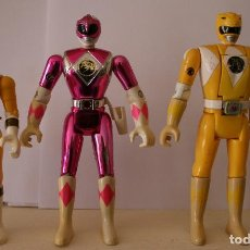 Figuras y Muñecos Power Rangers: MIGHTY MORPHING POWER RANGERS BANDAI 3 FIGURES . Lote 82321884
