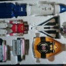 Figuras y Muñecos Power Rangers: SABAN'S POWER RANGERS IN SPACE DELUXE MEGA VOYAGER ZORD! 5 SPACE ZORDS MORPH INTO THE DELUXE . Lote 82998648
