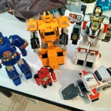 Figuras y Muñecos Power Rangers - Gran lote BANDAI,Power Rangers,Bioman,DX Sol Dozer,Años 80. Made in Japan. - 83305456