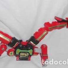 Figuras y Muñecos Power Rangers: ROBOT TRANSFORMER RED DRAGON DE POWER RANGERS. Lote 92186505
