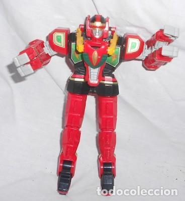 Figuras y Muñecos Power Rangers: ROBOT TRANSFORMER RED DRAGON DE POWER RANGERS - Foto 2 - 92186505