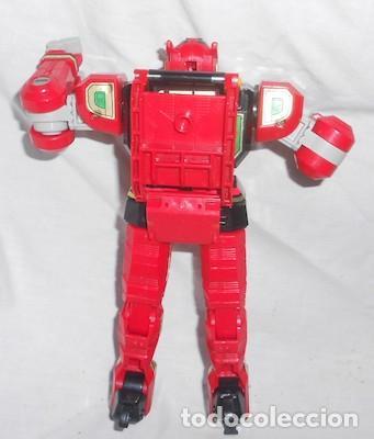 Figuras y Muñecos Power Rangers: ROBOT TRANSFORMER RED DRAGON DE POWER RANGERS - Foto 3 - 92186505