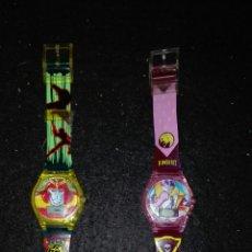 Figuras y Muñecos Power Rangers: LOTE 2 RELOJES POWER RANGERS. Lote 92262902