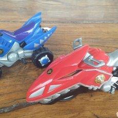 Figuras y Muñecos Power Rangers: POWER RANGER: MOTO Y QUAD. Lote 93932880
