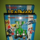 Figuras y Muñecos Power Rangers: FIGURA TRANSFORMABLE ROBOT POWER RANGER DOLPHIN LEADMAN NUEVO EN CAJA ANTIGUO MUÑECO POWER RANGERS. Lote 94116705