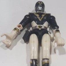 Figuras y Muñecos Power Rangers: FIGURA / MUÑECO , POWER RANGERS , NEGRO , RARO , BANDAI 1991 . Lote 95089691