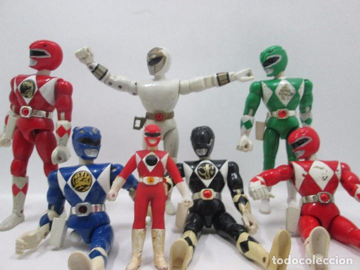 LOTE 7 POWER RANGERS - FIGURA DE ACCION (Juguetes - Figuras de Acción - Power Rangers)