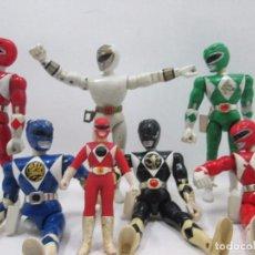 Figuras y Muñecos Power Rangers - LOTE 7 POWER RANGERS - FIGURA DE ACCION - 95333811