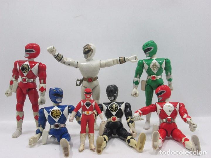 Figuras y Muñecos Power Rangers: LOTE 7 POWER RANGERS - FIGURA DE ACCION - Foto 2 - 95333811