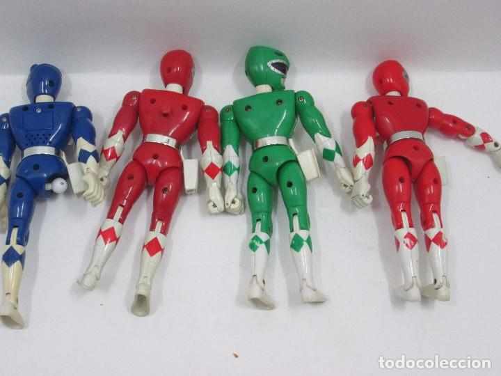 Figuras y Muñecos Power Rangers: LOTE 7 POWER RANGERS - FIGURA DE ACCION - Foto 3 - 95333811