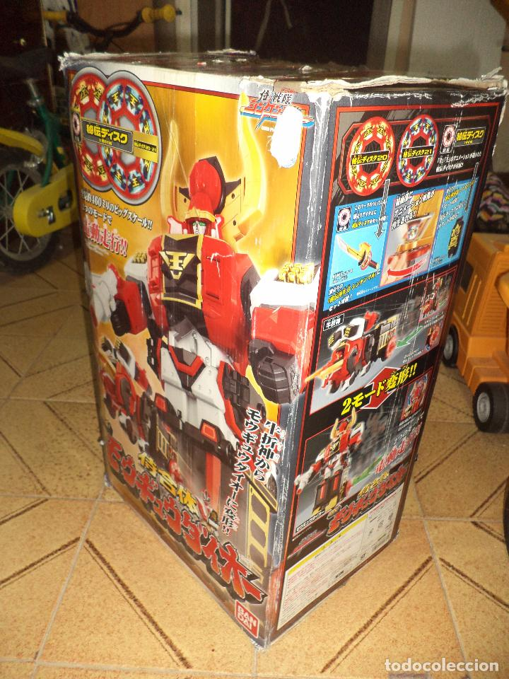 Figuras y Muñecos Power Rangers: Bull Megazord.Power Rangers Samurai.2009 Thailand.47 cm. de alto.Bandai.Transformer. - Foto 8 - 96541275