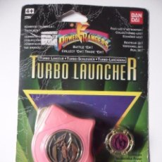 Figuras y Muñecos Power Rangers: MIGHTY MORPHIN POWER RANGERS TURBO LAUNCHER PINK BANDAI 1995. Lote 97001191
