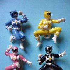 Figuras y Muñecos Power Rangers: MIGHTY MORPHIN POWER RANGERS COLECCION COMPLETA DE FIGURAS DE PVC SABAN 1995. Lote 97637403