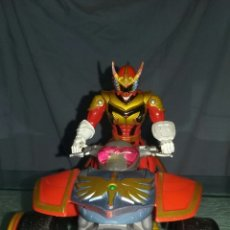 Figuras y Muñecos Power Rangers: POWER RANGER ROJO + QUAD (LE FALTA UNA LLANTA DELANTERA). Lote 98413507