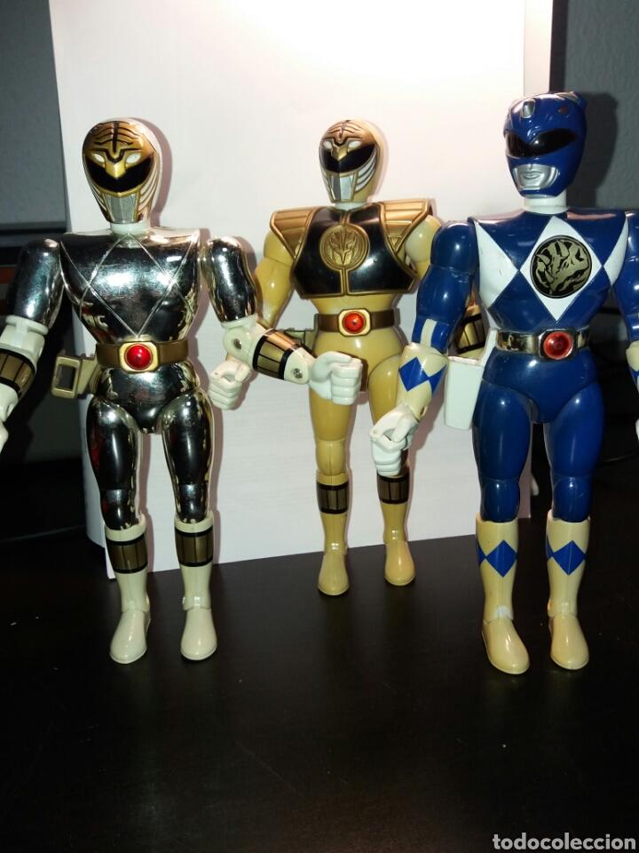 FIGURAS POWER RANGERS BANDAI DE 20 CM (Juguetes - Figuras de Acción - Power Rangers)
