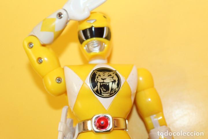 Figuras y Muñecos Power Rangers: LOTE DE 4 POWER RANGERS DE BANDAI MIDEN 20 CMS - AÑO 94 - Foto 7 - 98613547
