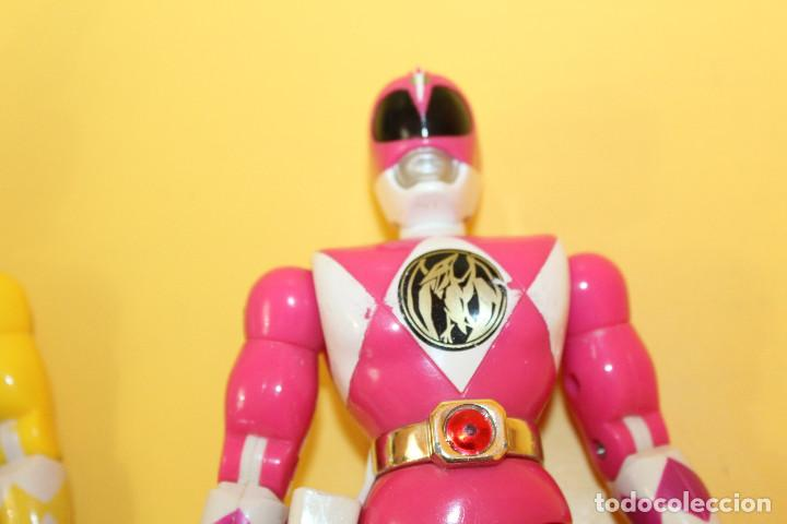 Figuras y Muñecos Power Rangers: LOTE DE 4 POWER RANGERS DE BANDAI MIDEN 20 CMS - AÑO 94 - Foto 9 - 98613547