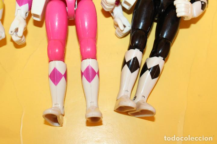 Figuras y Muñecos Power Rangers: LOTE DE 4 POWER RANGERS DE BANDAI MIDEN 20 CMS - AÑO 94 - Foto 14 - 98613547