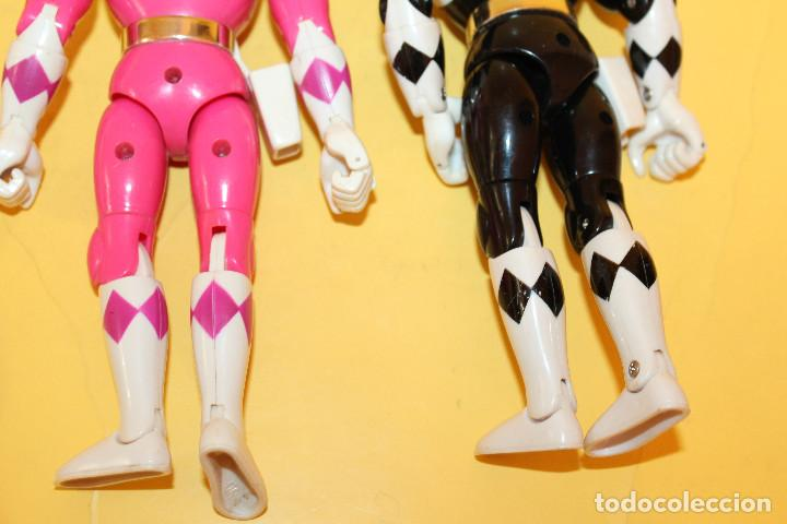 Figuras y Muñecos Power Rangers: LOTE DE 4 POWER RANGERS DE BANDAI MIDEN 20 CMS - AÑO 94 - Foto 16 - 98613547