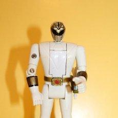 Figuras y Muñecos Power Rangers: POWER RANGERS COLOR BLANCO CABEZA GIRATORIA DE BANDAI - AÑO 93. Lote 98618803