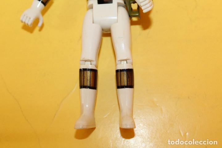 Figuras y Muñecos Power Rangers: POWER RANGERS COLOR BLANCO CABEZA GIRATORIA DE BANDAI - AÑO 93 - Foto 10 - 98618803