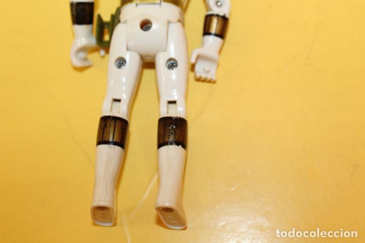Figuras y Muñecos Power Rangers: POWER RANGERS COLOR BLANCO CABEZA GIRATORIA DE BANDAI - AÑO 93 - Foto 11 - 98618803
