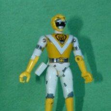 Figuras y Muñecos Power Rangers: BUSCADA FIGURA METAL POWER RANGER METEORO AMARILLO BIOMAN TOEI BANDAI 1988 COLECCIÓN VINTAGE. Lote 99884307