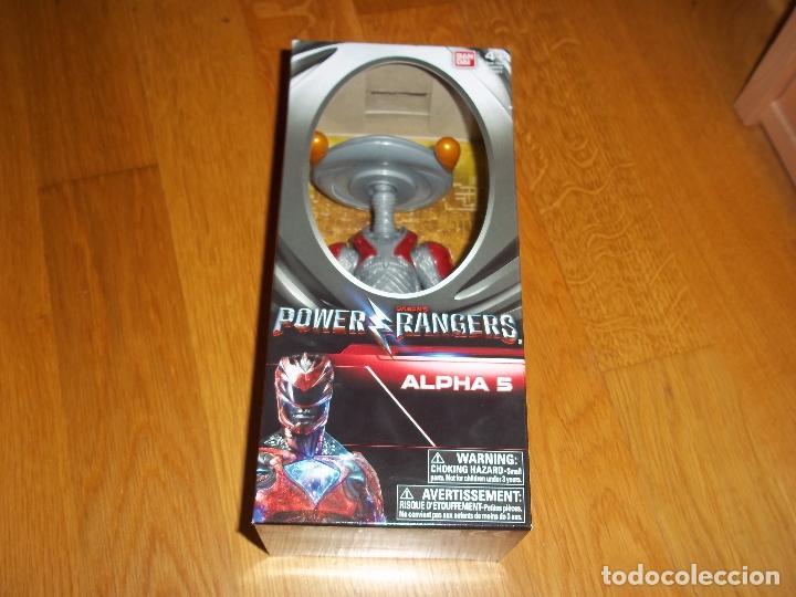 POWER RANGERS ALPHA 5 (Juguetes - Figuras de Acción - Power Rangers)
