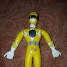 Figuras y Muñecos Power Rangers: FIGURA DE GOMA FLEXIBLE POWER RANGERS PVC. Lote 57688699