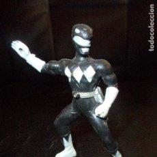 Figuras y Muñecos Power Rangers: POWER RANGER NEGRO - FIGURA PVC - RANGERS. Lote 102005695
