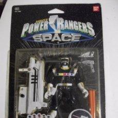 Figuras y Muñecos Power Rangers: RARO Y DIFICIL SABAN'S POWER RANGER IN SPACE - MEGA NEGRO LANZADOR EN SU CAJA - BLISTER BANDAI. Lote 102443639
