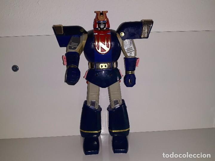 POWER RANGERS DELUXE : TRANSFORMER AUTO MORPHIN NINJOR MEGAZORD. - BANDAI AÑO 1995 (Juguetes - Figuras de Acción - Power Rangers)