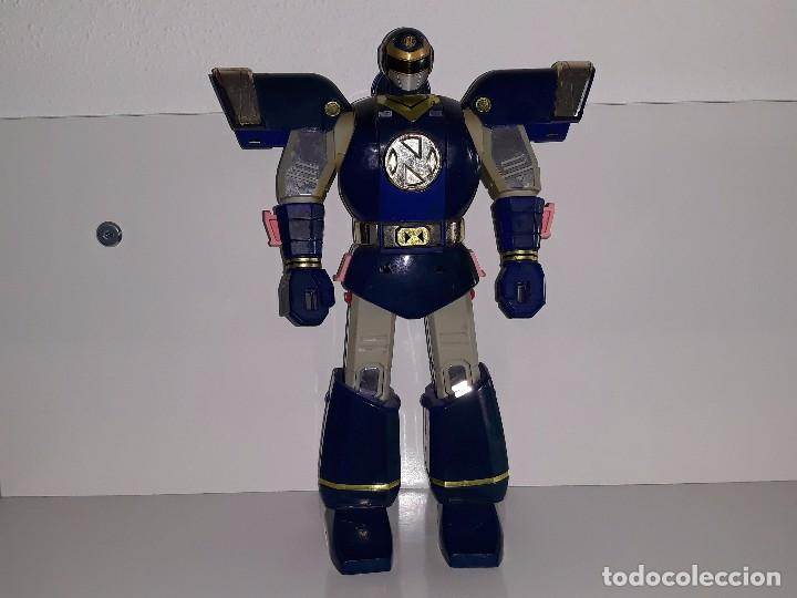 Figuras y Muñecos Power Rangers: POWER RANGERS DELUXE : TRANSFORMER AUTO MORPHIN NINJOR MEGAZORD. - BANDAI AÑO 1995 - Foto 2 - 103648047