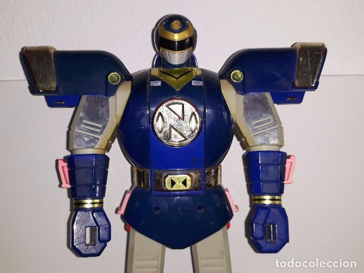 Figuras y Muñecos Power Rangers: POWER RANGERS DELUXE : TRANSFORMER AUTO MORPHIN NINJOR MEGAZORD. - BANDAI AÑO 1995 - Foto 3 - 103648047