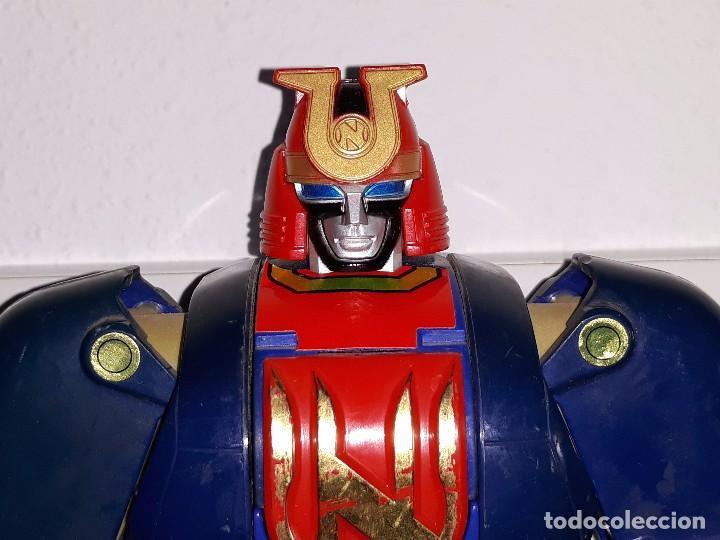 Figuras y Muñecos Power Rangers: POWER RANGERS DELUXE : TRANSFORMER AUTO MORPHIN NINJOR MEGAZORD. - BANDAI AÑO 1995 - Foto 18 - 103648047