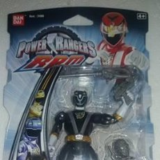 Figuras y Muñecos Power Rangers: POWER RANGERS RPM 12CM FULL THROTTLE WOLF RANGER - BRAND NEW VERY RARE - BANDAI . Lote 103767143