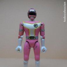 Figuras y Muñecos Power Rangers: FIGURA TURBO RANGER ROSA (POWER RANGER) 1989 BANDAI. Lote 104497419