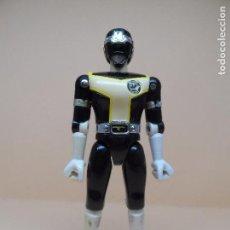 Figuras y Muñecos Power Rangers: FIGURA TURBO RANGER NEGRO (POWER RANGER) 1989 BANDAI. Lote 104498063