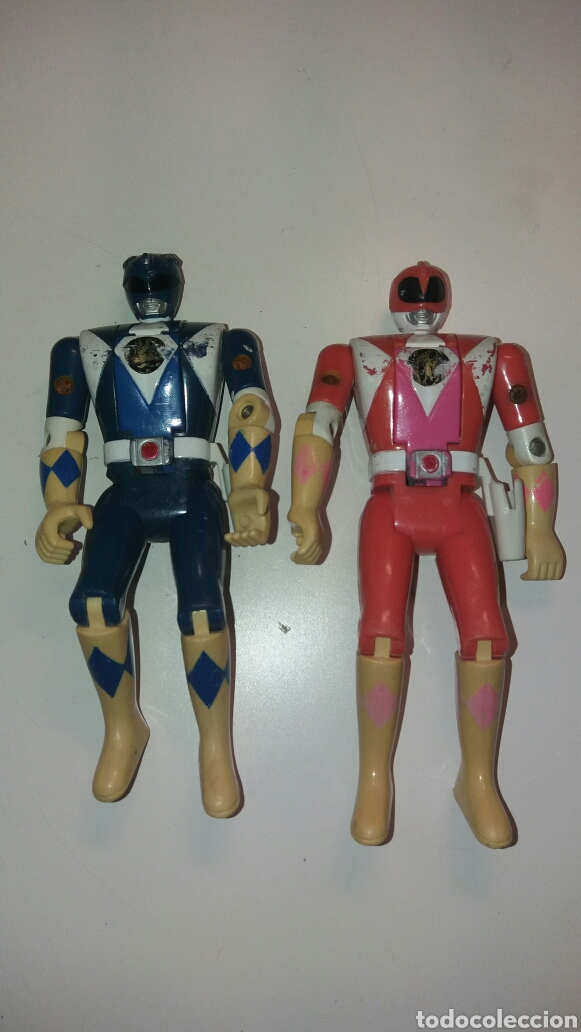 POWER RANGER BANDAI-CABEZA GIRATORIA. POWER RANGERS (Juguetes - Figuras de Acción - Power Rangers)