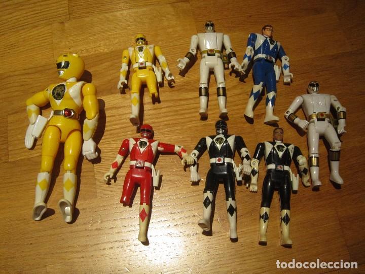 POWER RANGERS DE BANDAI. CABEZA GIRATORIA. AÑO 1993. 1ª GENERACION (Juguetes - Figuras de Acción - Power Rangers)