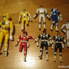 Figuras y Muñecos Power Rangers: POWER RANGERS DE BANDAI. CABEZA GIRATORIA. AÑO 1993. 1ª GENERACION. Lote 163973989