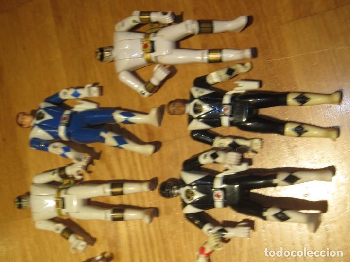 Figuras y Muñecos Power Rangers: POWER RANGERS DE BANDAI. CABEZA GIRATORIA. AÑO 1993. 1ª GENERACION - Foto 3 - 163973989