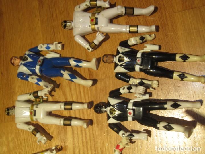 Figuras y Muñecos Power Rangers: POWER RANGERS DE BANDAI. CABEZA GIRATORIA. AÑO 1993. 1ª GENERACION - Foto 4 - 163973989