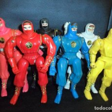 Figuras y Muñecos Power Rangers: COLECCION POWER RANGERS NINJA BANDAI 1995 - 2º SERIE -. Lote 106933515