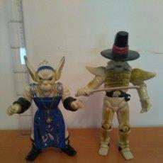 Figuras y Muñecos Power Rangers: FIGURAS VILLANOS POWER RANGERS - FINSTER Y BONES - EVIL SPACE ALIENS - BANDAI - 1993. Lote 107604903