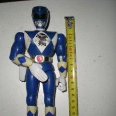 Figuras y Muñecos Power Rangers: ANTIGUO POWER RANGERS AZUL TOTALMENTE ARTICULADO 21 CM AÑO 94 BANDAI ,ARTICULACIONES FUERTES. Lote 107751015