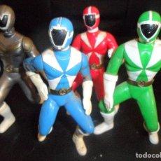 Figuras y Muñecos Power Rangers: LOTE DE POWER RANGERS - MARCA:2000 BANDAI MCDONALDS. Lote 109018303
