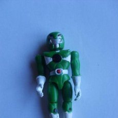 Figuras y Muñecos Power Rangers: POWER RANGER VERDE CASCO ANIMAL 8 CM. Lote 109442455